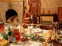 Вечер в грузинской семье