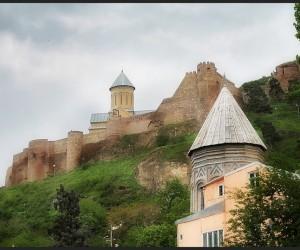 Тбилиси. Крепость Нарикала