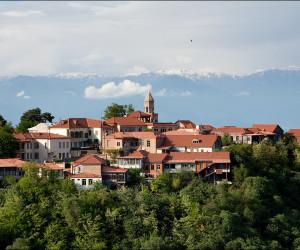 Сигнахи - Винная столица Грузии.