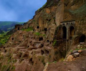 Пещерный комплекс в Грузии