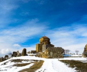 Новый Год в Тбилиси - Храм Джвари