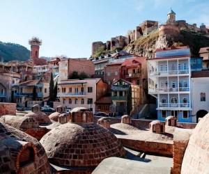 Грузия Тбилиси серные бани