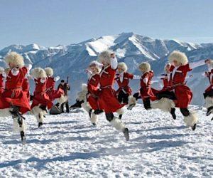Грузинский народный танец.