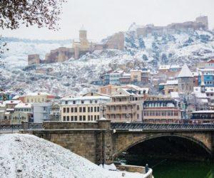 Старый Тбилиси зимой