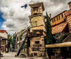 Башня-часы - театр Резо Габриадзе