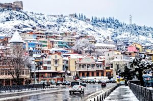 Тбилиси в Новый год
