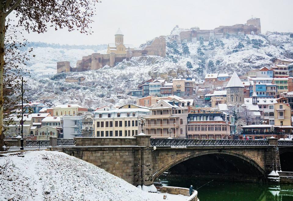 Новый год в Грузии - Новый год в Тбилиси