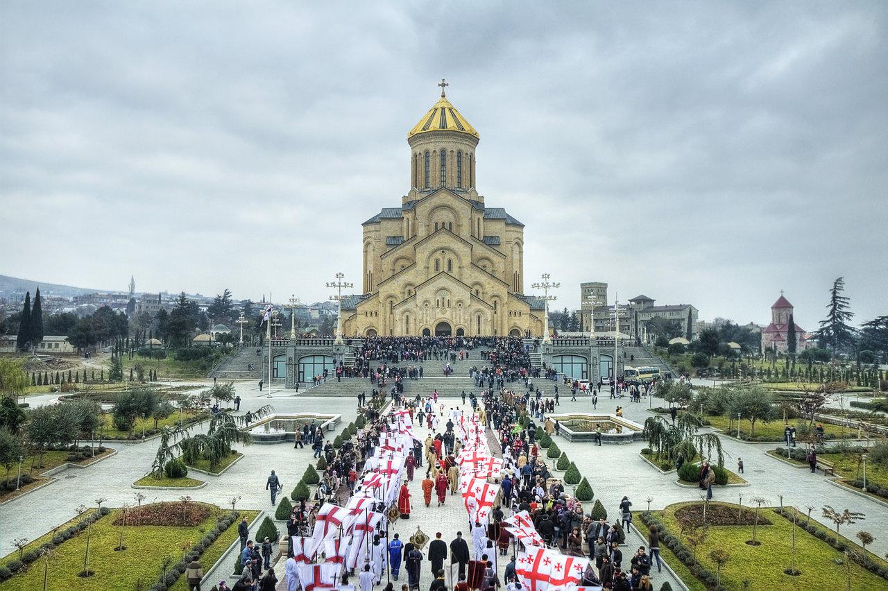 Рождество в Грузии Незабываемое Рождество в Тбилиси